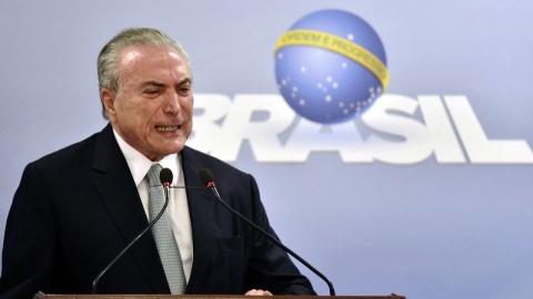 '뇌물 수수' 테메르 대통령 기소…브라질 또 '탄핵 정국'