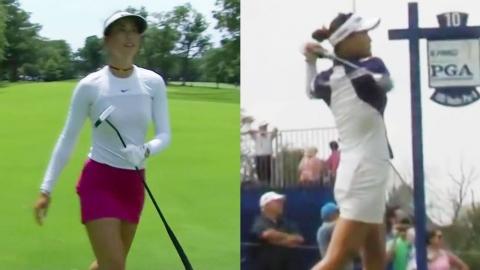 최운정·양희영, 여자 PGA 챔피언십 공동 선두 출발