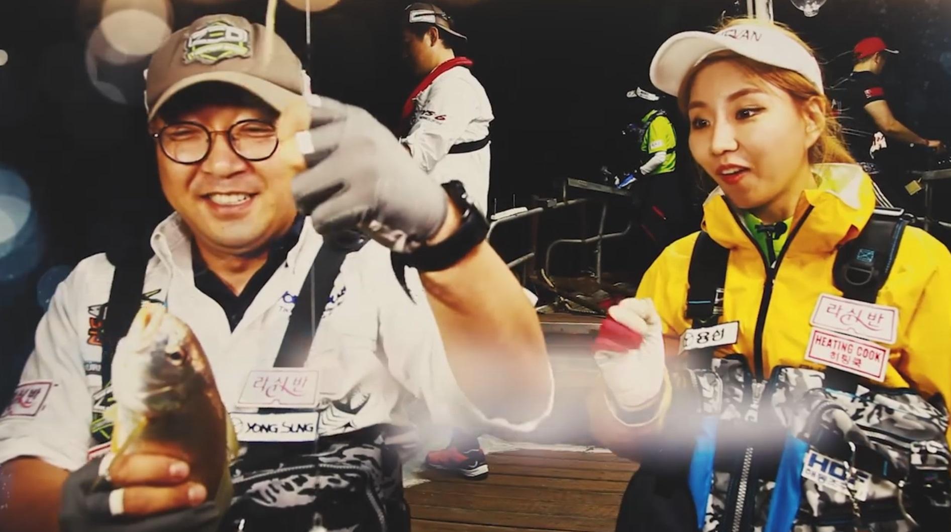 마산 앞바다 보구치(백조기)낚시 인기...트로트 걸그룹 '삼순이'도 반한 손맛과 입맛