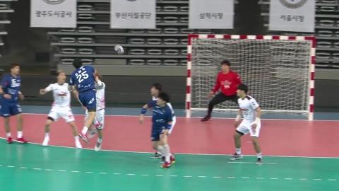 인천도시공사, SK 꺾고 남자 핸드볼리그 결승행