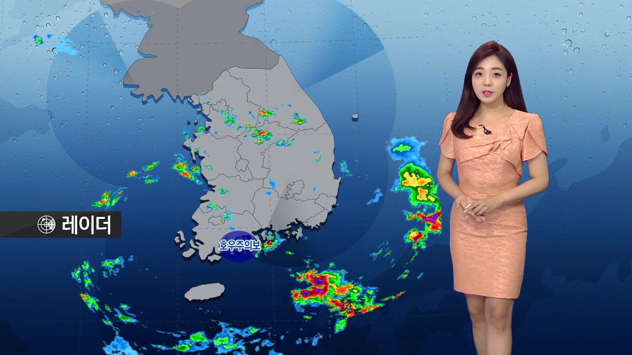 [날씨] 낮 동안 장마 소강·무더위...밤부터 중북부 호우 150mm↑
