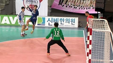 인천도시공사, 핸드볼 남자부 챔프전 1차전서 두산 꺾고 1승