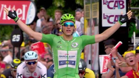 키텔, 투르 드 프랑스 네 차례 구간 우승
