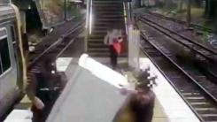 [지구촌생생영상] 지하철로 냉장고 옮기기...그 결과는?