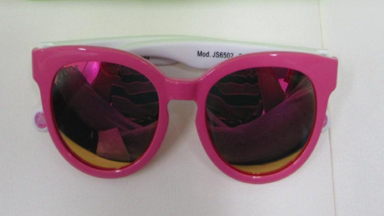 선글라스서 기준치 37배 초과 발암물질 검출