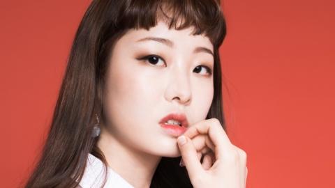 모델 김세인, 처피뱅 헤어스타일 완벽 소화!