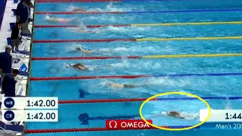 박태환, 세계선수권 자유형 200m 8위