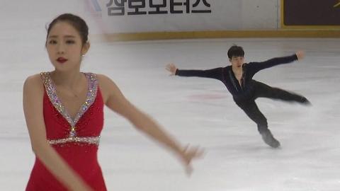 최다빈·이준형, 평창 올림픽 1차 선발전 우승