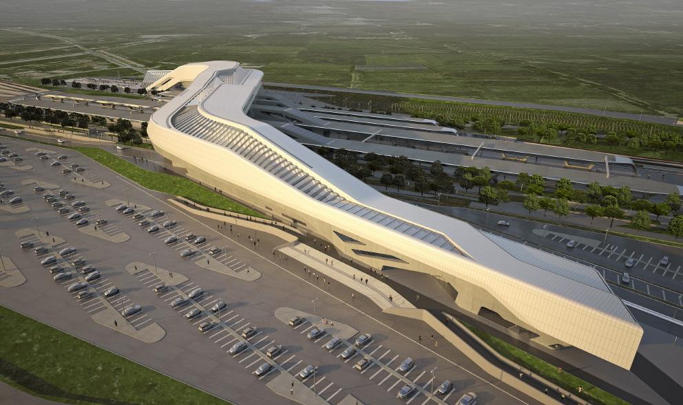〔안정원의 디자인 칼럼〕 나폴리 아프라골라 고속철도역의 이색적인 건축 엿보기 2