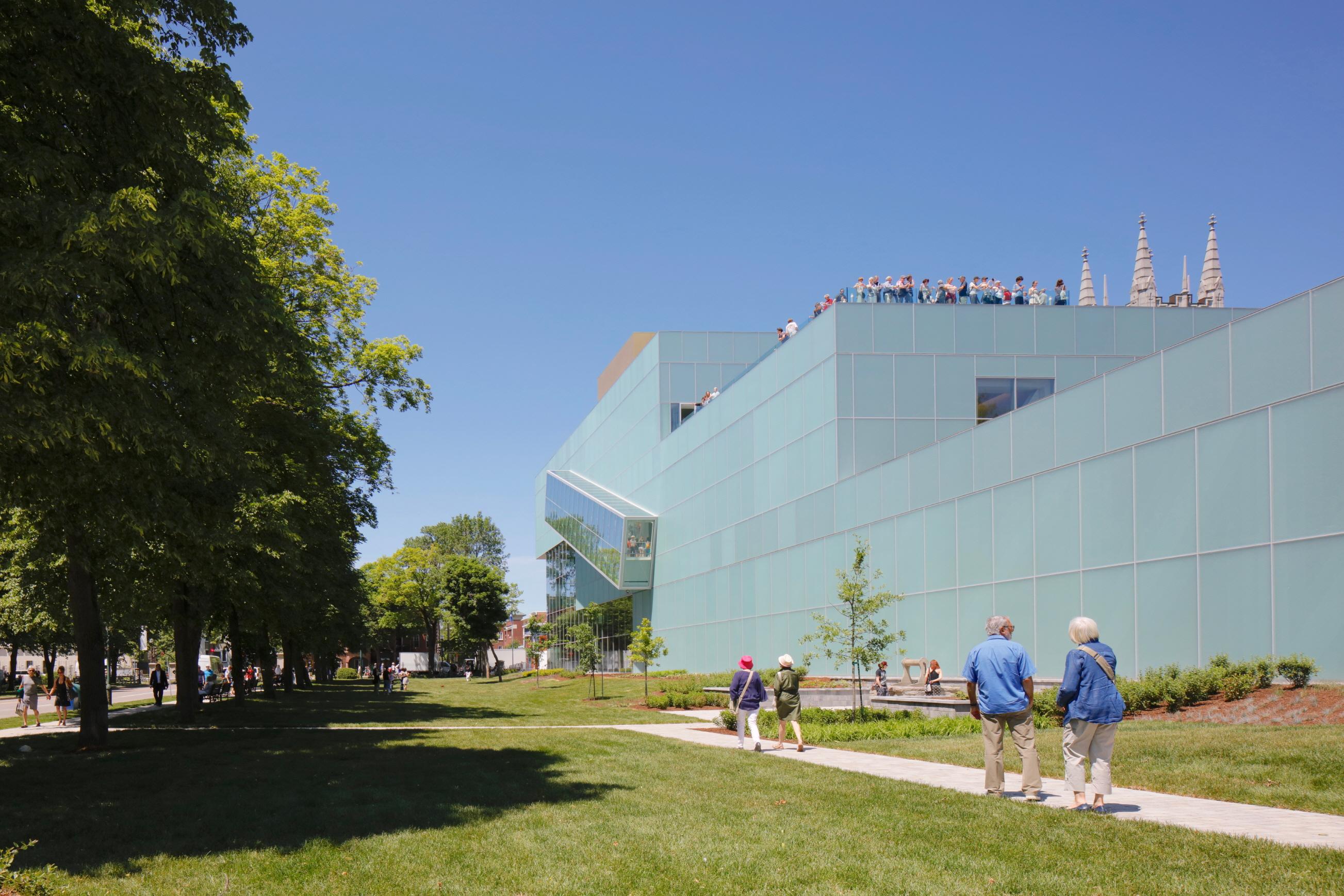 〔안정원의 디자인 칼럼〕 도시와 공원의 연속적인 관계성을 이어주는 합리적인 건축 OMA 3