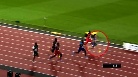 김국영, 한국 최초 세계육상선수권 100m 준결승 진출...10초24