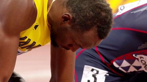 볼트 100m 동메달...'만년 2등' 게이틀린 '설움 날린 우승'