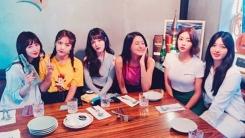 AOA, 5주년 자축…혜정, 6인조 완전체 사진 공개