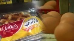 [취재N팩트] 유럽 살충제 오염 달걀 파문에 벨기에산 와플 수거