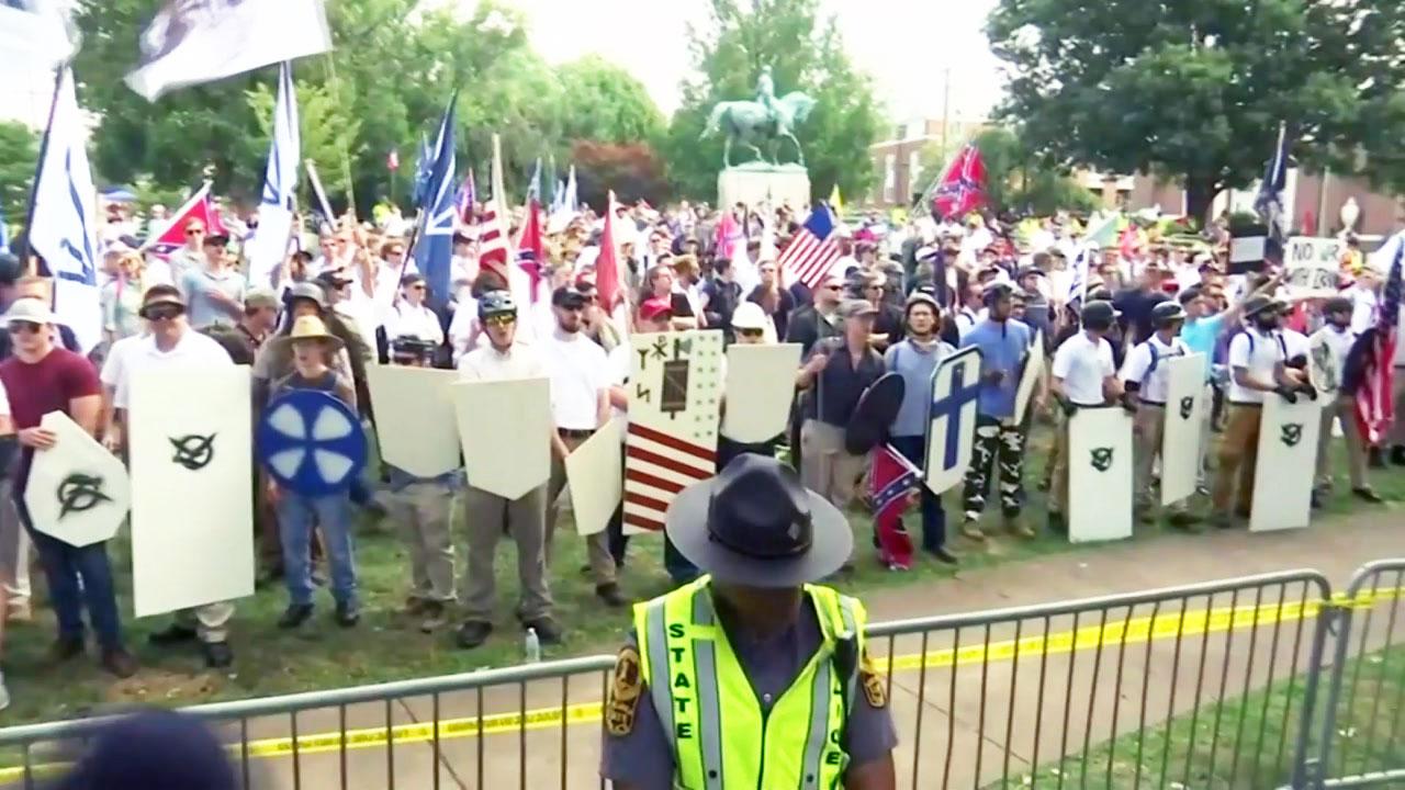 美 버지니아 주, 백인 우월주의 시위로  비상사태 선포
