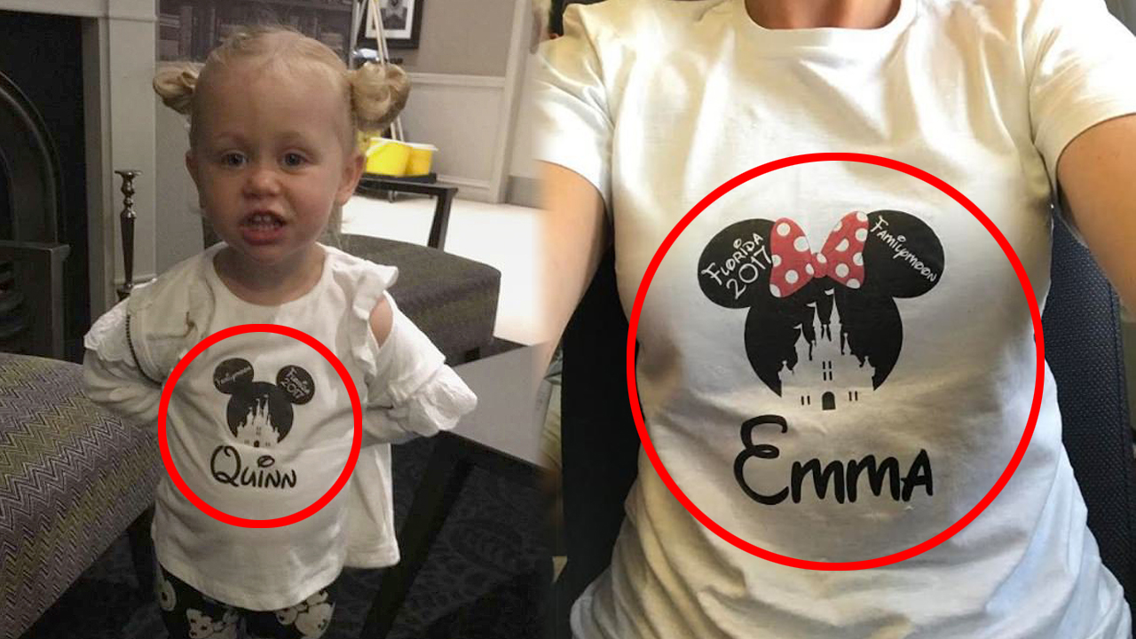 '디즈니 티셔츠' 때문에 공항 라운지 입장 거부당한 일가족