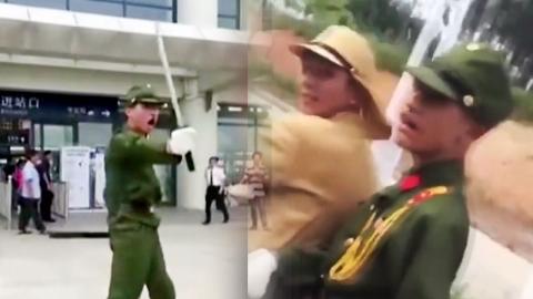 """中 청년들 일본 군복 입고 """"바카야로!""""…비난 폭주"""