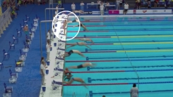 [영상] 71세 스페인 수영선수가 1분 늦게 출발한 이유