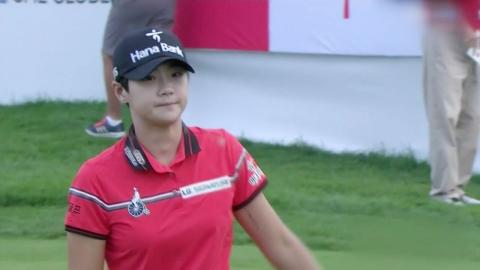 박성현, 역전 우승...한국 선수 5연승