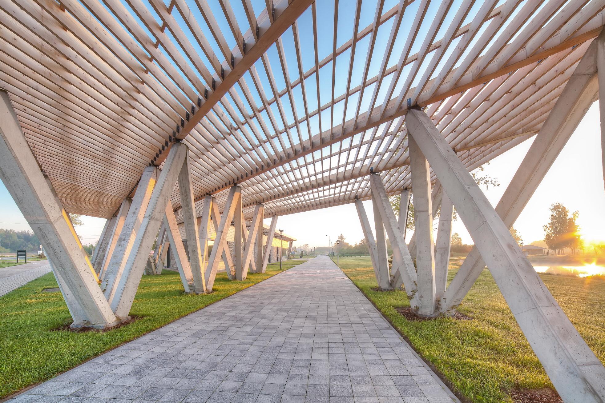 〔안정원의 디자인 칼럼〕 여섯 개의 건물이 생태적 흐름의 자연환경과 조화를 이루다 2