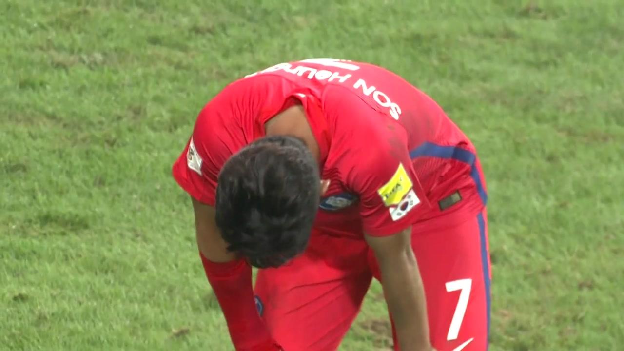 [취재N팩트] 벼랑 끝에 선 한국 축구...최악의 경우 조 4위로 탈락