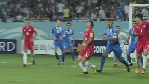 한국 축구, 9회 연속 월드컵 진출 성공