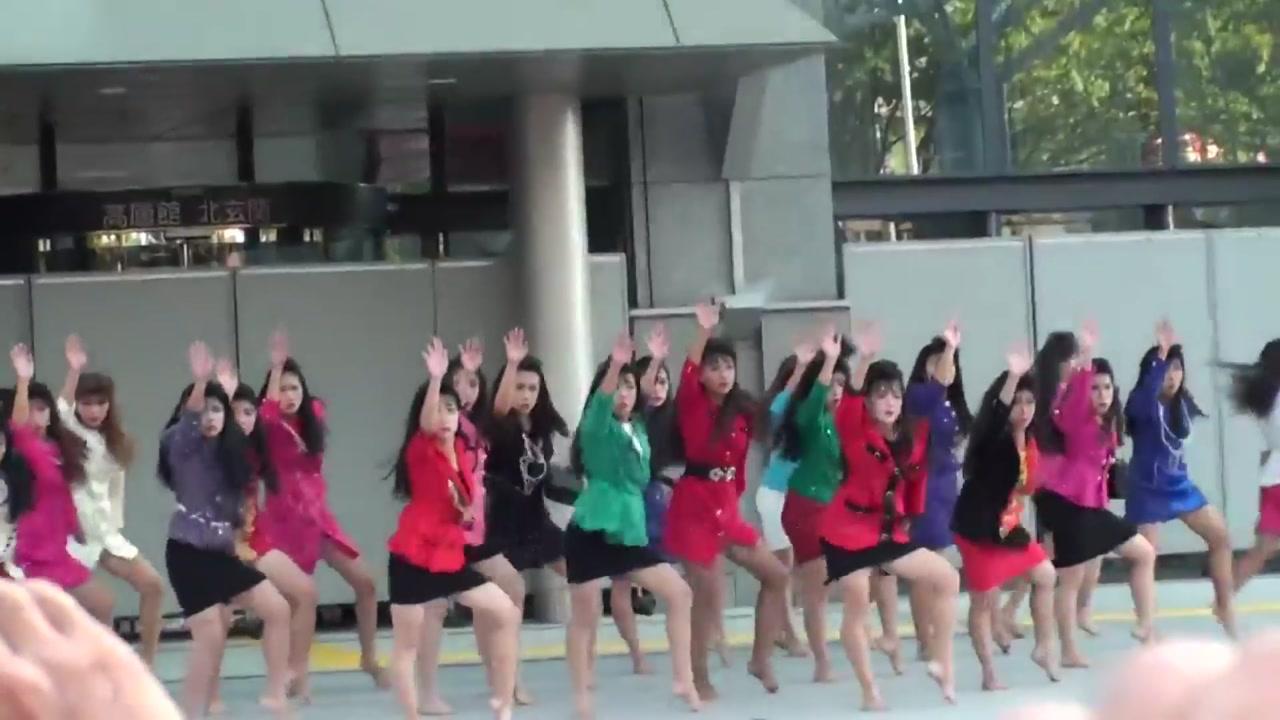 [영상] 日 고등학교 댄스팀의 충격적인 군무