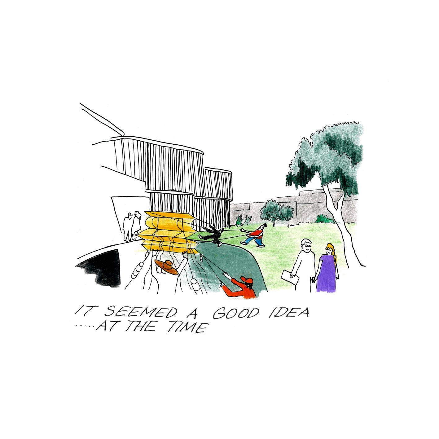 〔안정원의 디자인 칼럼〕 바람의 순환 관계와 햇볕의 열기를 고려한 창의적인 학교 공간 3.