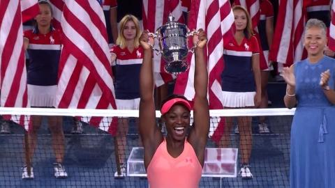 스티븐스, US오픈 여자단식 첫 우승