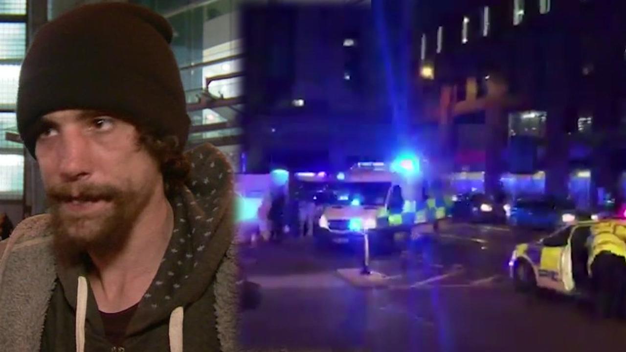 맨체스터 테러 희생자 도운 '노숙자 영웅', 부상자 물건 훔친 혐의로 체포
