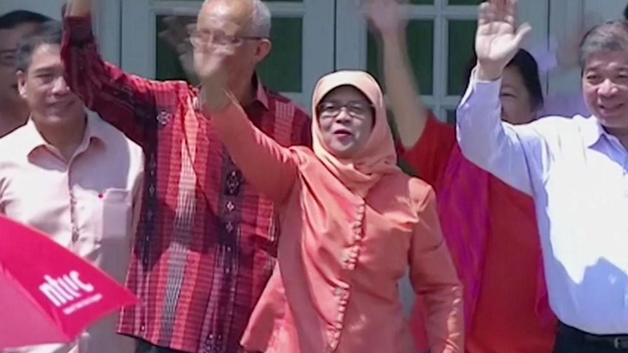 할리마 야콥, 싱가포르 첫 여성 대통령으로 확정