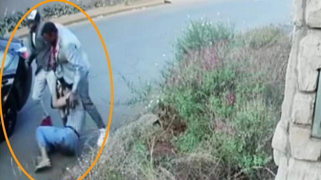 [영상] 무장강도에 온몸으로 저항한 여성