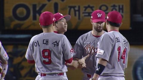 '다이아몬드 완봉' SK 3연승...가을잔치 성큼