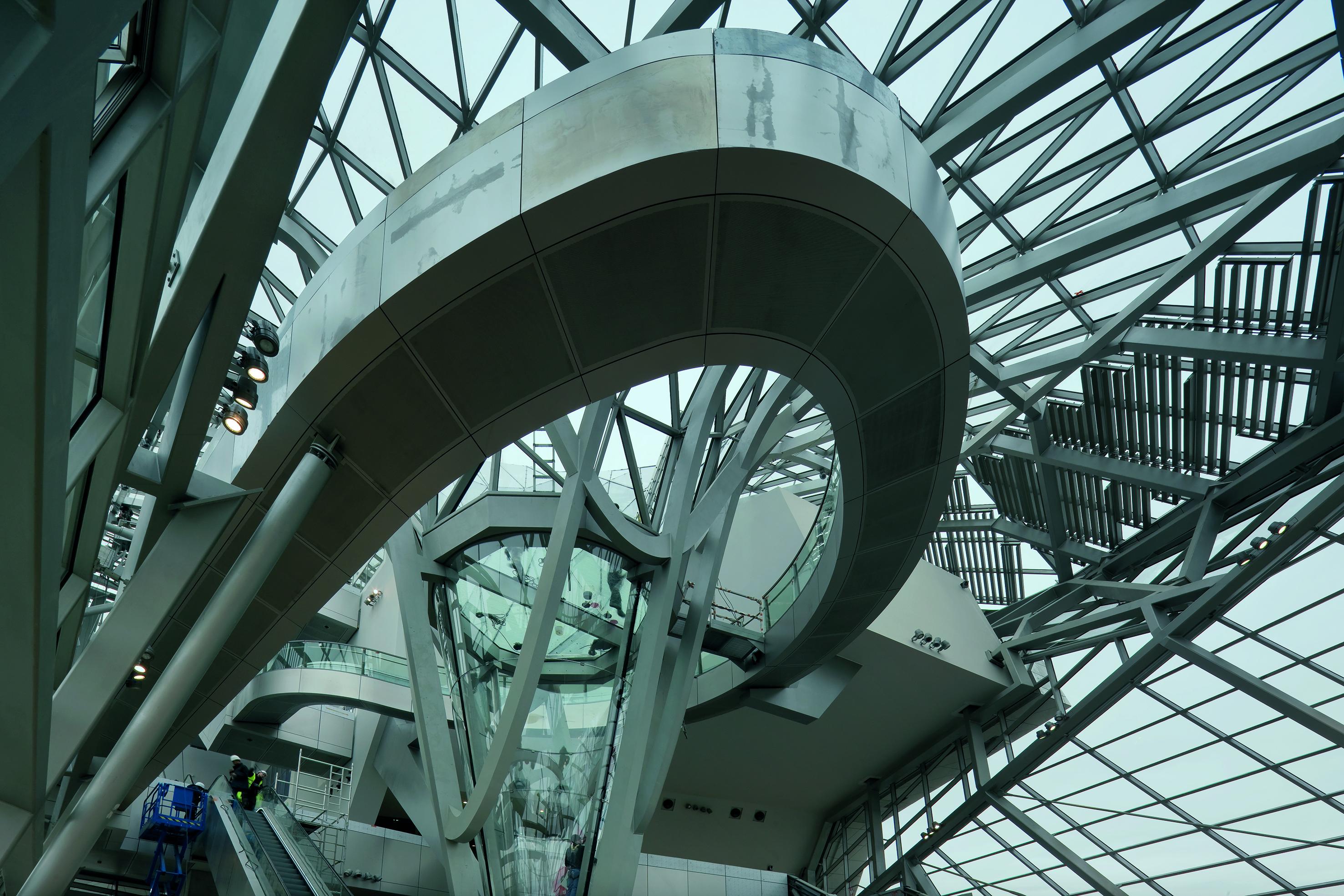 〔안정원의 디자인 칼럼〕 지식의 전달을 위한 매개 공간, 리옹 콩플루앙스 박물관 2