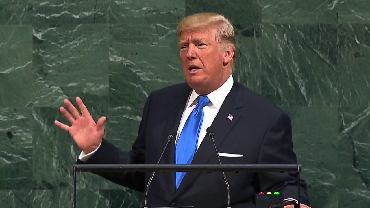 """[취재N팩트] """"北 완전 파괴"""" 트럼프 초강경 발언 배경은?"""