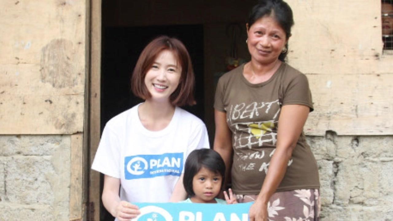 [좋은뉴스] 이수경, 5년째 필리핀 오지 섬 봉사활동
