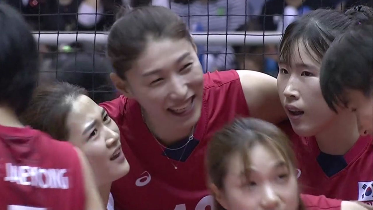 여자 배구, 태국 완파하고 4연승