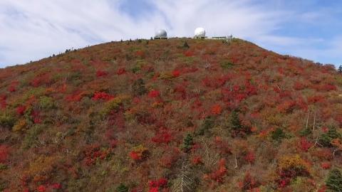 가을옷 갈아입은 설악산…첫 단풍 시작
