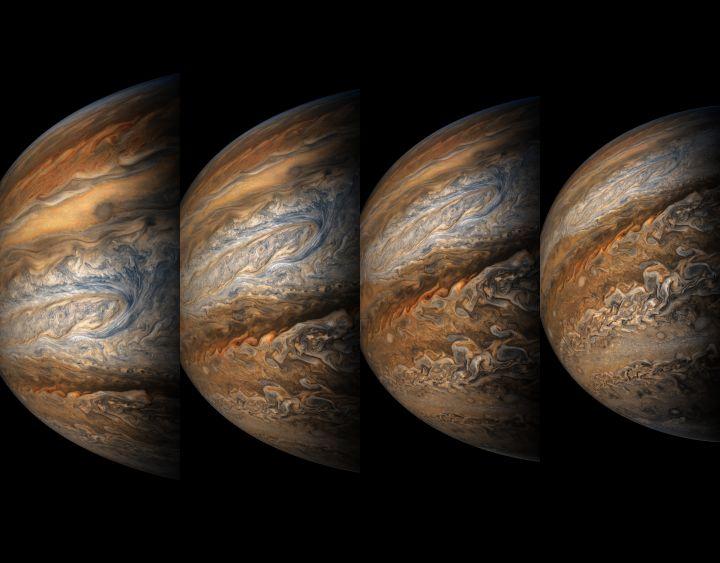 목성 공포증 불러 일으키는 목성의 최근 사진