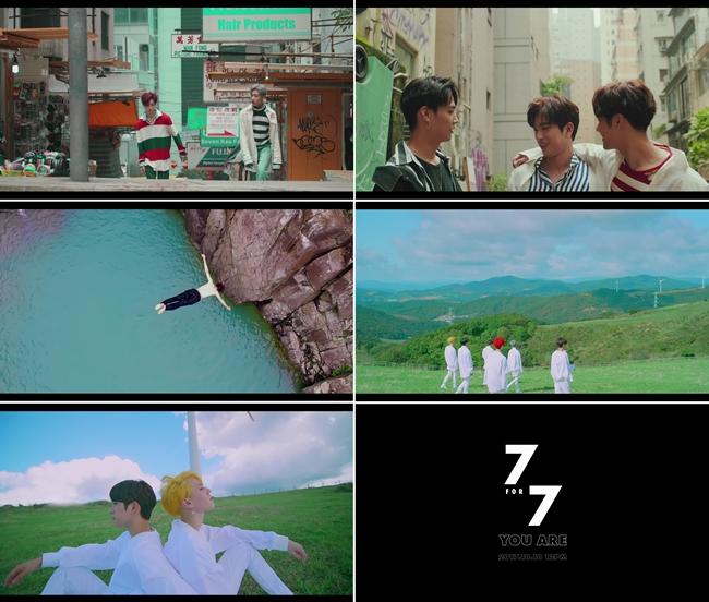 "GOT7, 신곡 MV 티저 공개 ""찬란한 청춘美 담았다"""
