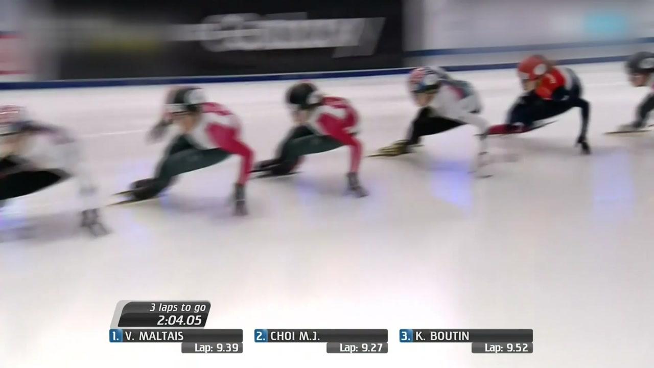 최민정·황대헌, 쇼트트랙 월드컵 2차 1,500m 동반 금메달