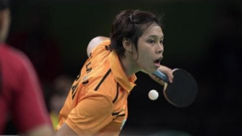 필리핀 탁구영웅 만난 유승민 IOC 위원