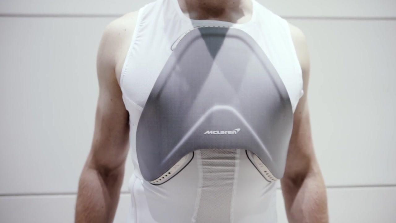 첨단 슈퍼카 기술로 만든 '무적 갑옷'