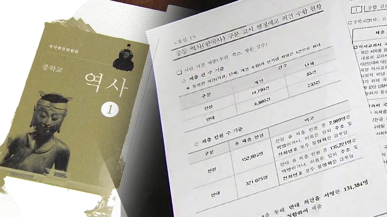 여야, 국정교과서 '여론 조작 의혹' 공방