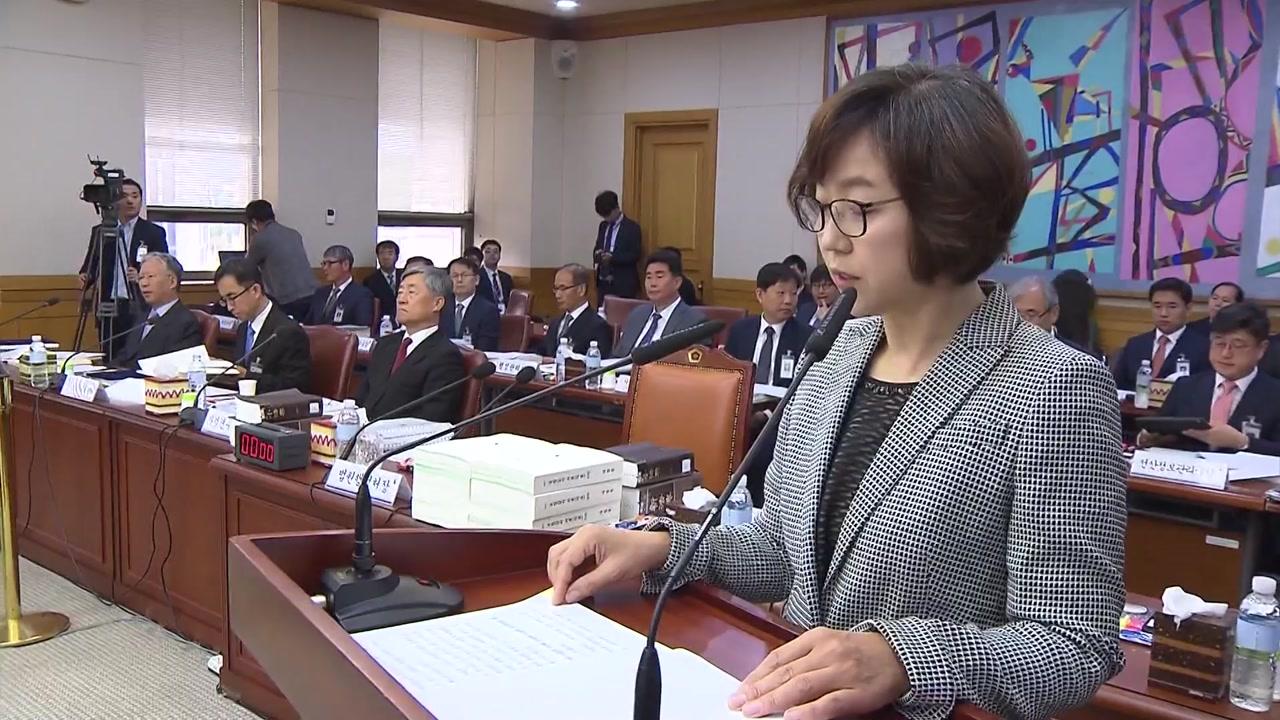 대법원 국감 '사법부 블랙리스트' 추궁...朴 구속 연장 여부 도마