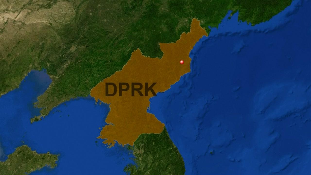 [속보] 북한 핵실험장 인근 규모 2.9 지진 관측
