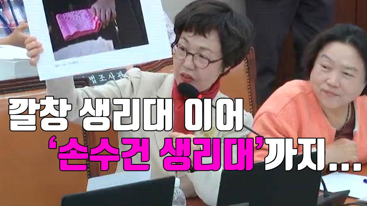 [자막뉴스] 깔창 생리대에 이어 '손수건 생리대'까지...
