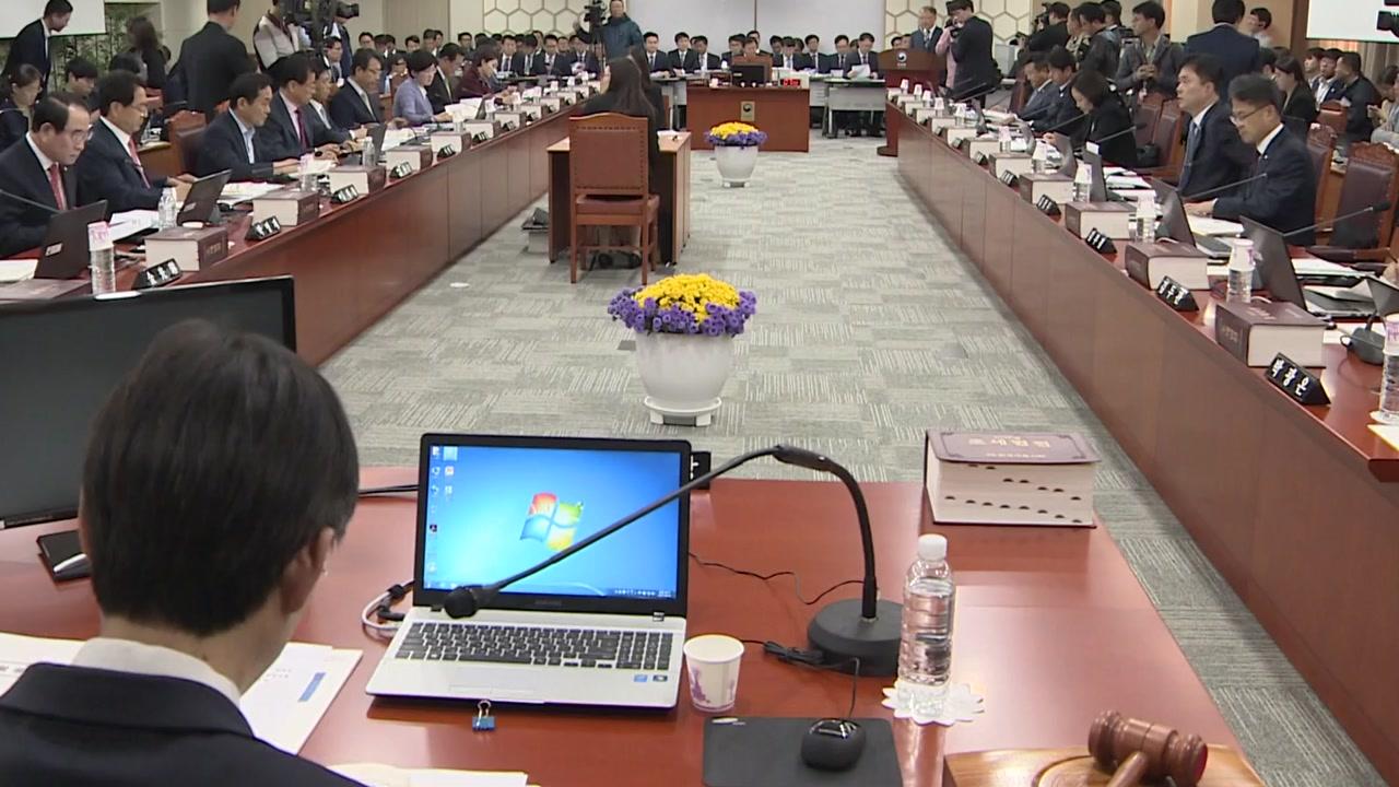 국세청 국감, '정치적 세무조사' 논란