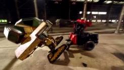 [지구촌생생영상] '미국 vs 일본'...거대 전투 로봇 대결의 승자는?