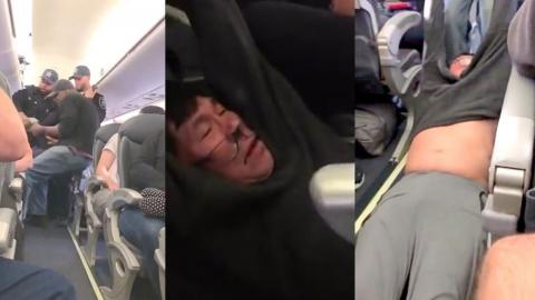승객 폭행 논란 유나이티드 항공사 직원 해고
